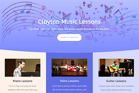 Clayton Music Lessons